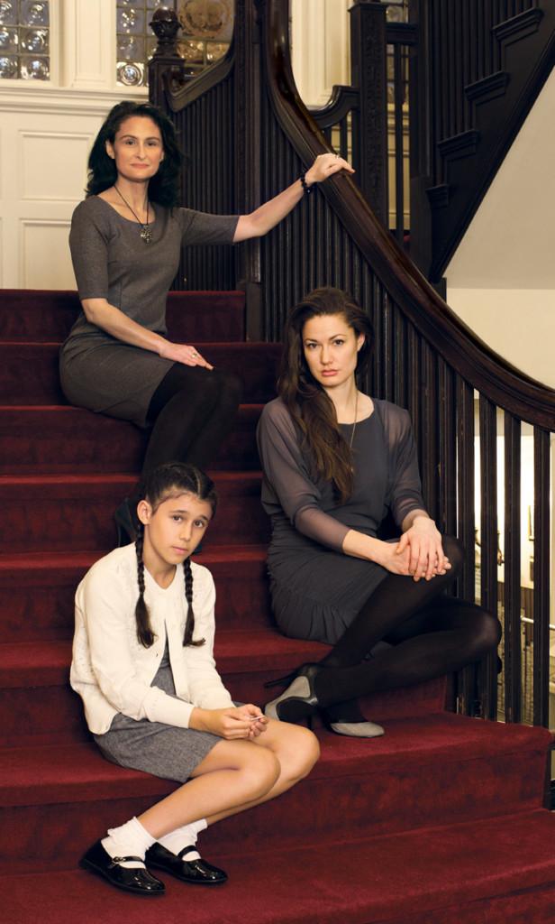 Three Survivors- Writer:Director, Woman, Girl